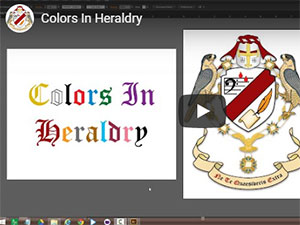 Colours In Heraldry